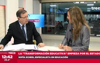 Transformar la educación, no reformarla, sostiene experta
