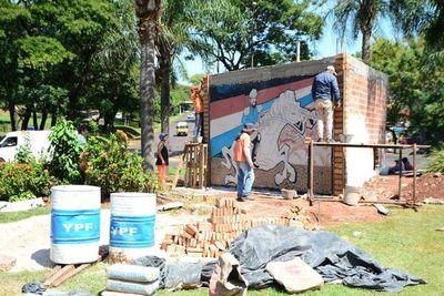 MOPC pide demolición de mural construido por la Comuna esteña