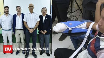 EMOTIVO CIERRE DE CIRUGÍAS ÑEMYATYRÔ EN ITAPÚA