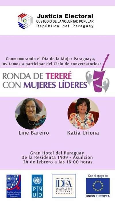 Lanzan ciclo de conversatorios para mujeres líderes por Día de la Mujer Paraguaya