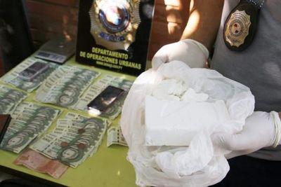 Desarticulan esquema de distribución de cocaína en Villa Elisa