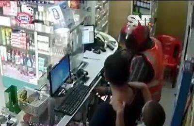 De terror : Asalto a mano armada en San Lorenzo