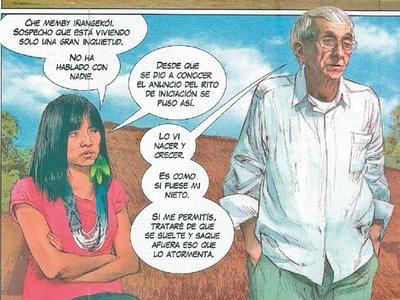 El mundo guaraní es narrado en historietas