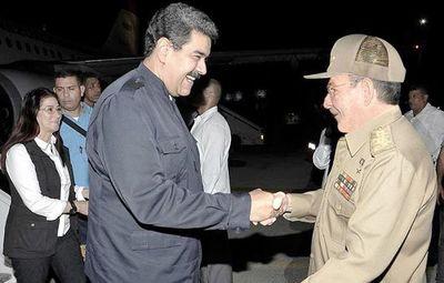 Hablan con Cuba por una solución en Venezuela