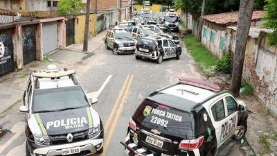 Brasil registra más de 50 asesinatos en Ceará durante motín policíal