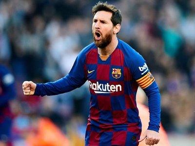 Lionel Messi tritura al Eibar