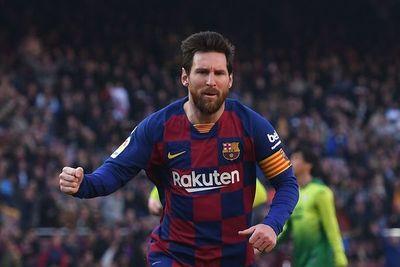 Poker de Messi para ser líder provisional