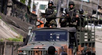 Un convoy con combustible nuclear fue blanco de disparos en Río de Janeiro