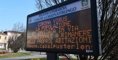 Cuarentena en Italia y alerta máxima en Corea del Sur por coronavirus