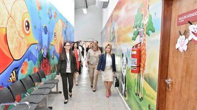 Autoridades nacionales e internacionales visitan Centro Ciudad Mujer
