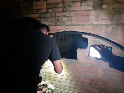 Policía aborta intento de robo al local de Visión Banco de Carapeguá