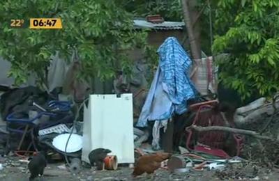 Vecinos sucios y Dengue en un barrio de Mariano Roque Alonso
