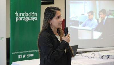 """Lorena Soto: """"La paraguaya es resiliente, tiene mucha fortaleza porque pasa por muchas inequidades y eso no la detiene"""""""