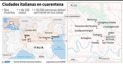El norte de Italia en cuarentena por expansión de casos de coronavirus