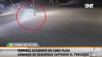 Un hombre muere a causa de explosión tras chocar contra columna