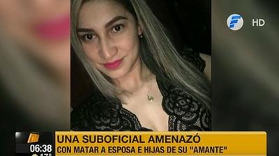 """Suboficial ataca a esposa de su """"examante"""" en Coronel Oviedo"""