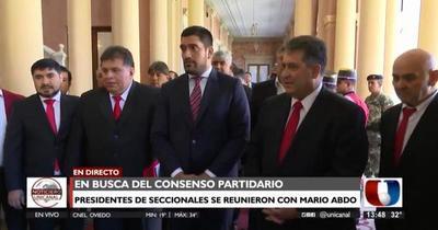 Marito se reunió con seccionaleros de cara a las municipales