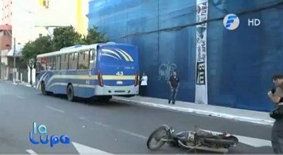 Imputan a conductor y a chofer de la Línea 30 tras accidente fatal