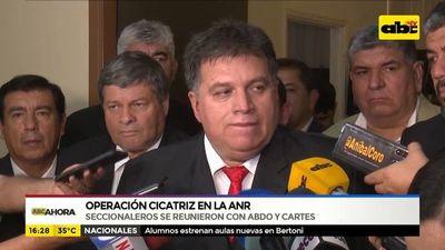 Operación Cicatriz: reunión de presidentes de seccionales con Alliana y Horacio Cartes