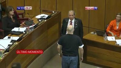 El Senado suspende a Payo Cubas