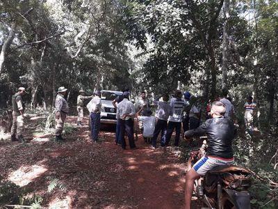 Invaden bosques de Itaipú