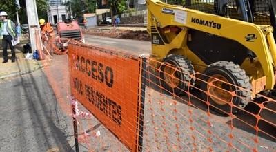 Atención conductores: anuncian nuevas obras de alcantarillado en Asunción a partir de mañana