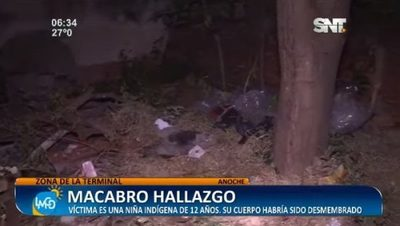 Mujer cuenta cómo halló cuerpo de niña abandonado en una bolsa
