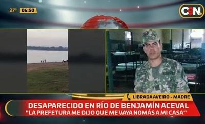 Militar desaparece en aguas del río Paraguay