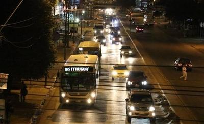 HOY / Bus comunal nocturno para  franja descuidada por privados:  Boleto a 1.500 hasta medianoche