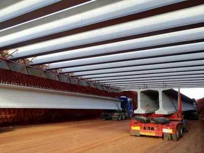 Concluye montaje de vigas del Multiviaducto del kilómetro 7