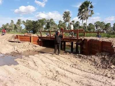 Fuerte Olimpo: Habilitaron el nuevo puente construido en zona Ñu Apuá