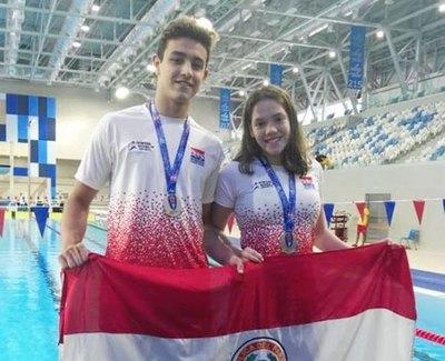 Nadadores paraguayos traen seis medallas de Perú