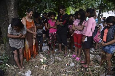Manifestantes piden justicia para niña indígena asesinada
