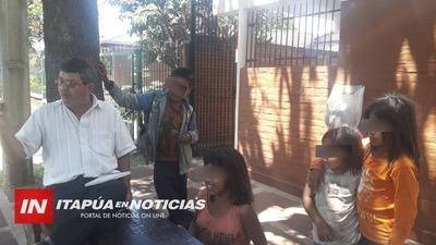 TRABAJO PERMANENTE DE ASISTENCIA A PERSONAS DE COMUNIDADES INDÍGENAS.