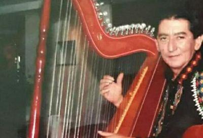 Falleció el arpista Nino Martínez