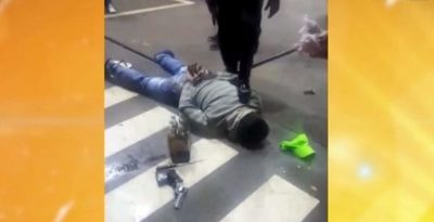 Tras balacera y persecución, caen dos supuestos asaltantes