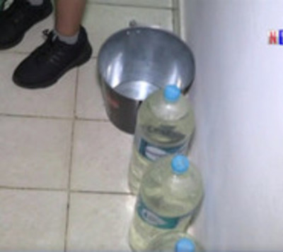 Barrio de la capital lleva tres días sin agua