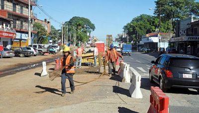 Mario Abdo pide acción de la justicia en caso de obras inconclusas del metrobús