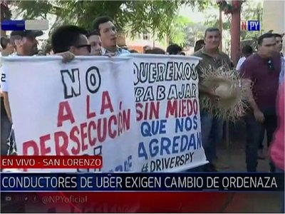San Lorenzo: Piden suspender ordenanza que regula MUV y Uber