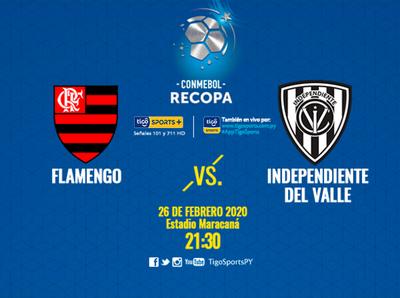 Flamengo e Independiente del Valle van por la Recopa