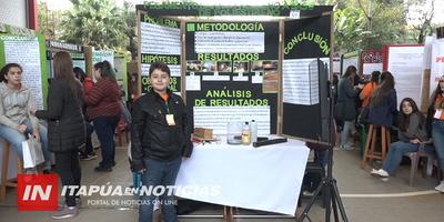 FERIA INTERNACIONAL DE CIENCIA Y TECNOLOGÍA SE DESARROLLÓ EN ENCARNACIÓN