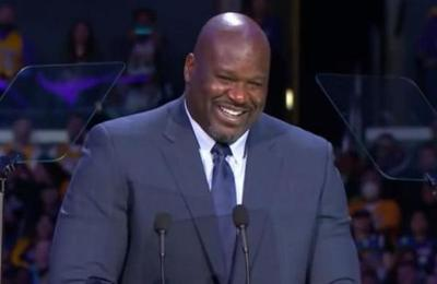 La anécdota de Shaquille O'Neal que hizo reír a todos en el funeral de Kobe Bryant