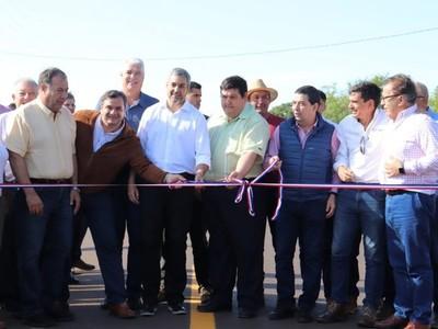 Habilitan nuevo tramo asfaltado que conecta San Ignacio con la compañía Santa Rita