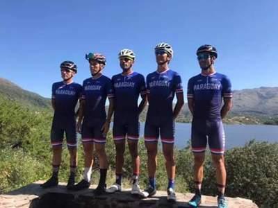 Selección Paraguaya de Ciclismo de Ruta compite en Argentina
