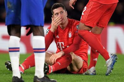 Lewandowski, cuatro semanas de baja