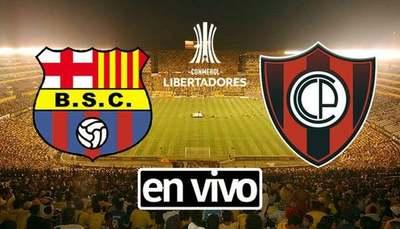 Cerro Porteño vs Barcelona SC En Vivo [Copa Libertadores 2020]