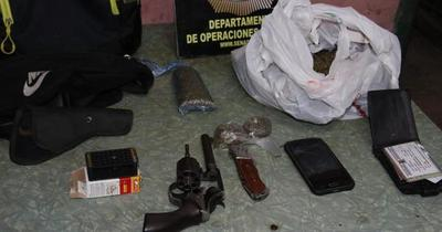 Intervienen punto de tráfico de drogas Barrio Obrero