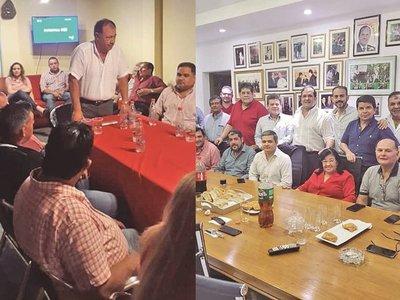 Afara y Arnaldo se rebelan en contra del consenso en la ANR
