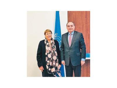 Gobierno invita a Bachelet a visitar el país