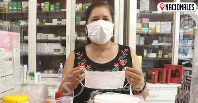 Coronavirus: Reconocen escasez de tapabocas en Paraguay